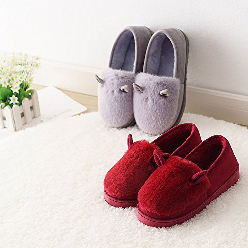 CHNHIRA für Damen Baumwolle Hausschuhe Hausschuhe aus BrwCqBv