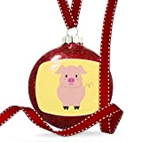 Christmas Decoration Cute Animals for Kids Pig Ornament