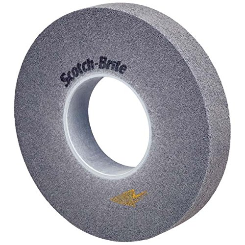 Scotch-Brite(TM) EXL PRO Deburring Wheel, 9S FIN, 6 x 1/2 x 1 by Scotch-Brite