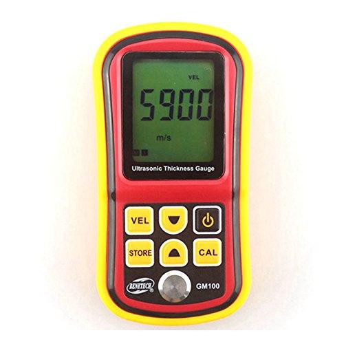 Benetech GM100 Ultrasonic Thickness Gauge Tester Metal Width Measuring Instrument 1.2~220mm (Steel) Sound Meter Diagnostic-tool