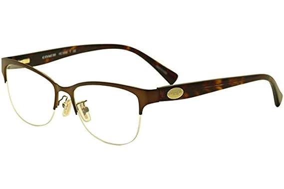 d0247a5f250 Coach Women s HC5066 Eyeglasses Satin Black Black 53mm at Amazon ...