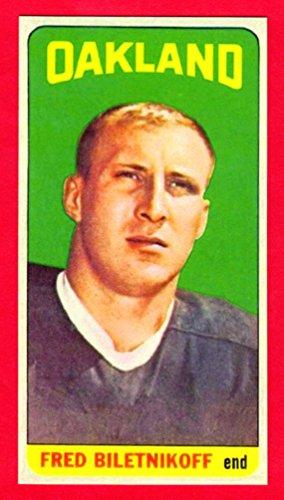 Fred Biletnikoff 1965 Topps Football Rookie Reprint Card (Tall Boy) (Raiders)