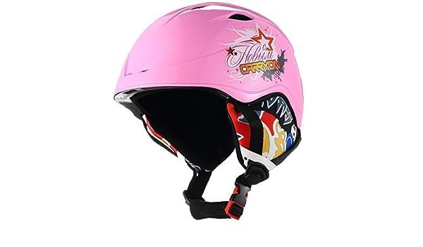 Amazon.com : eDealMax Carryon autorizado niños Snowboard Casco de esquí de invierno Bicicleta de Skate Deportes Proteger Liner : Sports & Outdoors