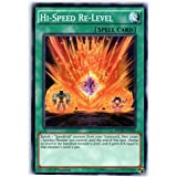 Yu-Gi-Oh! - Hi-Speed Re-Level (BOSH-EN058) - Breakers of Shadow - 1st Edition - Common by Yu-Gi-Oh!