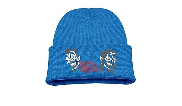 7518b4f16f5 Amazon.com  Insane Clown Posse Warm Winter Hat Knit Beanie Skull Cap Cuff Beanie  Hat Winter Hats Girls  Sports   Outdoors
