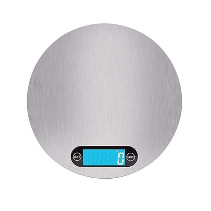 craftsman168 Balanza de Cocina Digital de Acero Inoxidable, Balanza de alimentación electrónica Modular para hogar