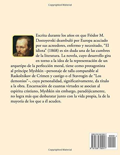 Amazon.com: El Idiota (Spanish Edition) (9781539792017 ...