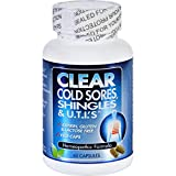 CLEAR PRODUCTS CLEAR HERPES/SHINGLES/UTI, 60 CAP