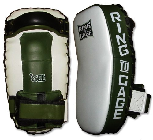 GelTech Deluxe MINI Thai Pad for Muay Thai, MMA, Kickboxing by Ring to Cage