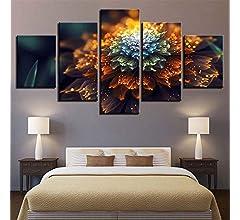BBQBQ Pintura Decorativa, Habitación Cinco peleas abstractas ...