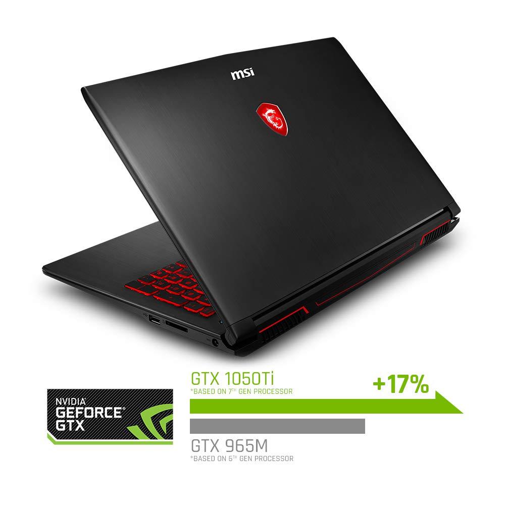 """MSI GV62 8RD-276 15.6"""" Performance Gaming Laptop"""