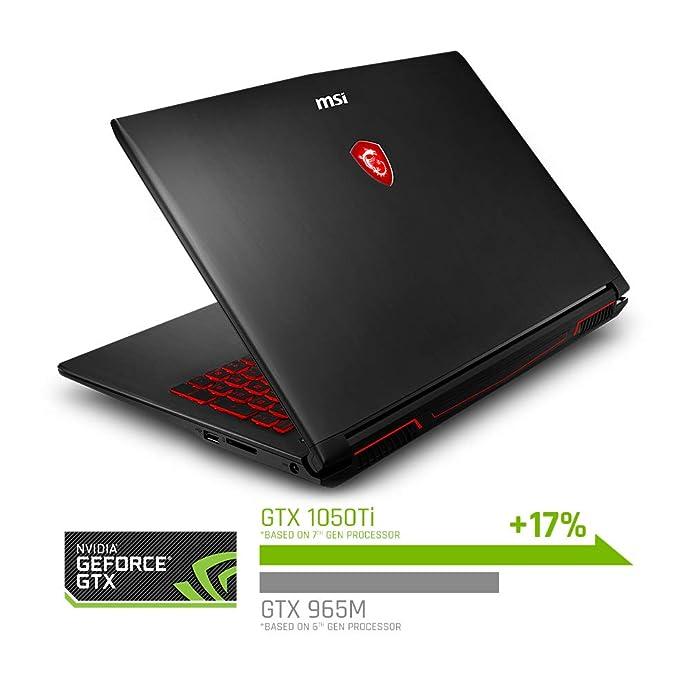 限Prime会员 MSI 微星 GV62 8RD-276 15.6英寸游戏本笔记本电脑(i7-8750H/16G/1T+128G SSD/GTX1050Ti 4G)8折$799史低 海淘转运到手约¥5809 中亚Prime会员免运费直邮到手约¥6617