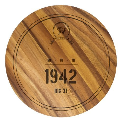 Ironwood Gourmet 1942 Wine Barrel Circle Board by Ironwood Gourmet