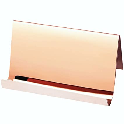 Amazon topspeeder stainless steel business card holder desktop topspeeder stainless steel business card holder desktop cards displayprofessional business card rack organizer colourmoves