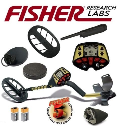 Fisher Metal Detector Holiday Package