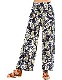Womens High Waist Wide Leg Printed Palazzo Pants