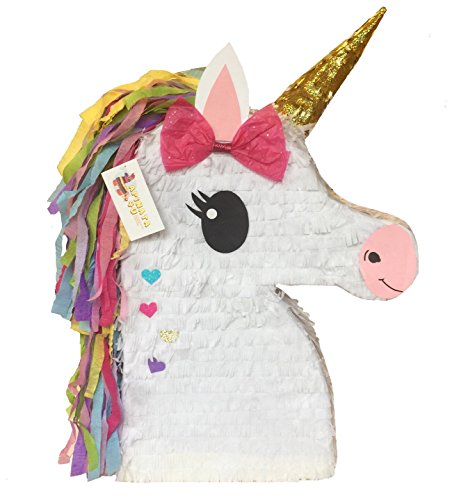 Discount APINATA4U Unicorn Emoticon Pinata for cheap