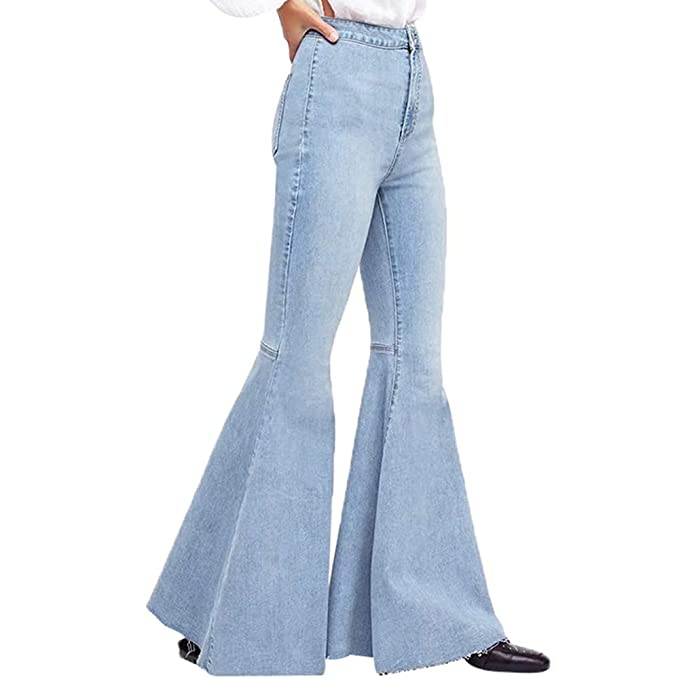 Vaqueros para Mujer, STRIR Pantalones Vaqueros Mujeres Slim ...