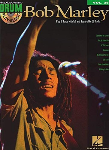 Bob Marley - Drum Play-Along Volume 25 (Book/Cd) - Bob Marley Songbook