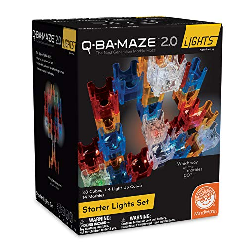 - MindWare Q-BA-Maze 2.0 Lights: (Starter Set)