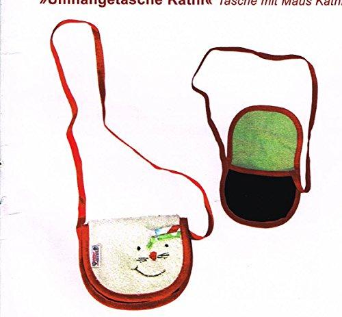 Kollektion Karthaus , Borsa Messenger  multicolore Weißrot