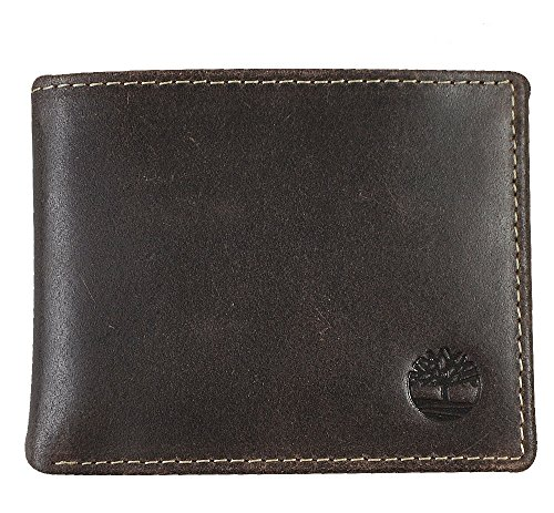 Timberland Mens Blix Slimfold Leather Wallet