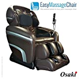 Osaki OS-7200CR - Zero Gravity Full Computer Body Scan 3D Tech Massage Chair