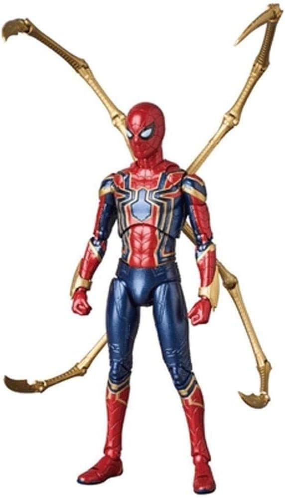 LGW Figuras de acción Juguete de Marvel Spider - Man con la Garra - Vengadores, PVC, 18 cm Gran Regalo para niños
