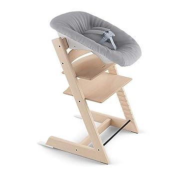 Stokke Ergonomic Tripp Trapp Newborn Baby Set, Grey