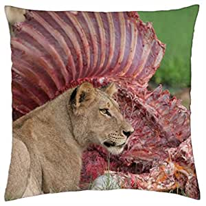 lions - Throw Pillow Cover Case (18