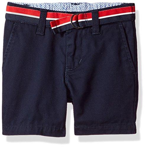 Tommy Hilfiger Baby Boy's Charlie Flat Front Short Shorts, swim navy, 18M