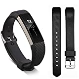 Ugood_ 2019 Replacement Wrist Band Silicon Strap for Fitbit Alta/Alta HR Smart Watch Bracelet (Black)