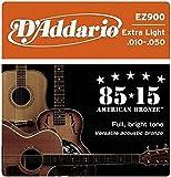 D'Addario EZ900 Bronze Acoustic Guitar Strings