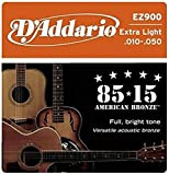 D'Addario EZ900 Bronze Acoustic Guitar Strings