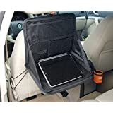 Slience Shopping Travel Car Laptop Holder Tray Bag Mount Back Seat Auto Food Work Table Organizer
