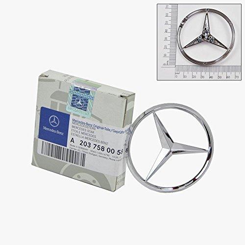 Trunk Star Emblem - Mercedes-Benz Trunk Lid Star Emblem Badge Genuine Original 2030058