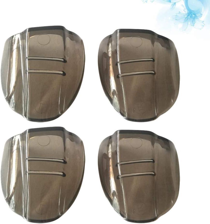 HEALLILY 2 Paar Schutzbrillen Seitenschutz auf Transparenten Seitenschutz Flexibler Augenschutz Seite f/ür Schutzbrille Passend f/ür Mittlere bis Gro/ße Brillen Universal Unisex