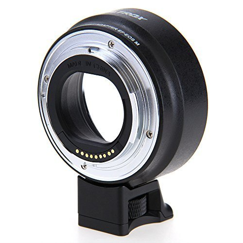 Viltrox Mount Adapter for Canon EOS M, EOS M2 Compact System Digital Camera and Canon EF, EF-S Lenses (Replacement for Canon EF-EOS M Mount Adapter) by Viltrox