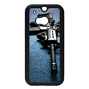 Unique Gun Phone Case,Plastic Htc One M8 Cover,Amazing Gun Style Phone Accessory for Him