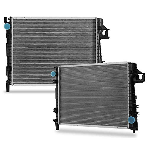 CU2479 Complete Radiator Replacement for Dodge Ram 1500/2500/ 3500 2003 3.7 V6 4.7 5.7 V8