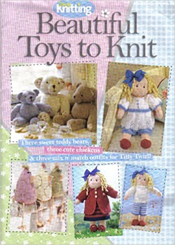 Simply Knitting Soft Toys Knitting Pattern Booklet Teddy Bears