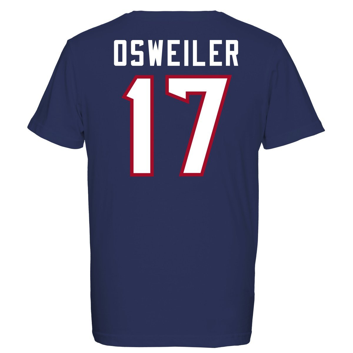 Majestic NFL Fan Camiseta - Houston Texans 17 Brock osweiler, hombre, azul marino, small: Amazon.es: Deportes y aire libre