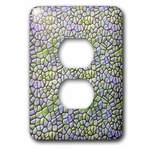 Metal Mosaic Plates - 3dRose lsp_39662_6