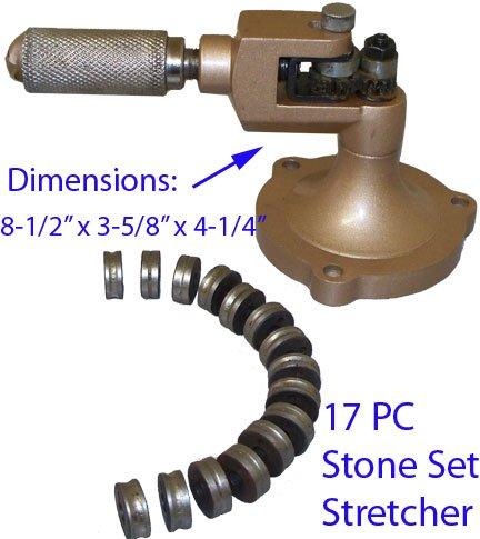 17 PC Stone Setting Ring Stretcher Enlarger Sizer