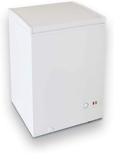 Congelador Arcón INFINITON Horizontal (Blanco) CH-102 DC- A+ - 100 ...