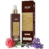 WOW Lavender & Rose Skin Mist Toner - 200 ml - No Sulphate - No Parabens