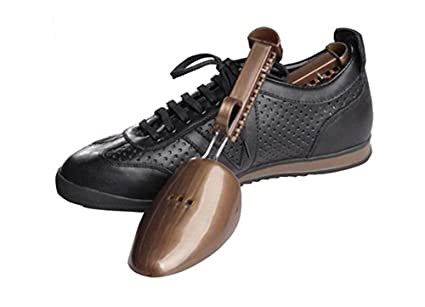 2 Pair Adjustable Shoe Tree Practical Men Women Portable Traditional Plastic