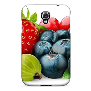 New Berries Tpu Case Cover, Anti-scratch LueGn3191MIIZt Phone Case For Galaxy S4 BY supermalls