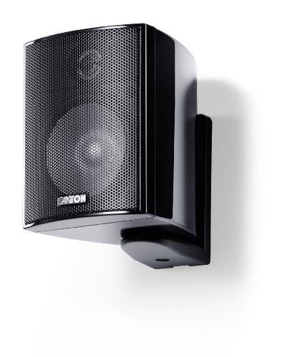 Canton Plus MX.3 kleine luidsprekers (40/70 Watt) zwart hoogglans (paar)