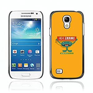 Carcasa Funda Case // V0000682 Page Not Found 404 Error Template // Samsung Galaxy S4 MINI i9190 i9192 i9195